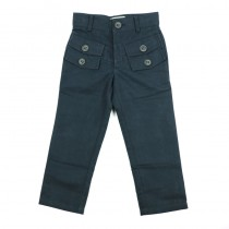 Boys Fashion Mid Waist Trousers With Pockets