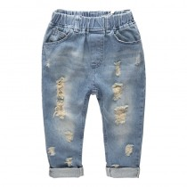 Boys New Fashion Ripped Jeans