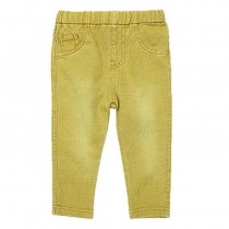 Boys Solid Elastic Waist Denim Jeans