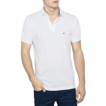 Classic White Short Sleeve Polo Tshirt