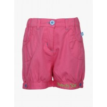 Contemporary Design Pink Cotton Short
