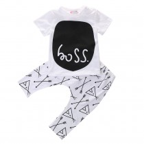 Cotton Short Sleeve Baby Boy Sets