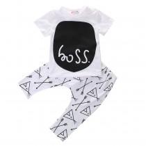 Cotton Short Sleeve Baby Boy Sets