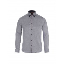 Dark Blue Double Collar Formal Shirt