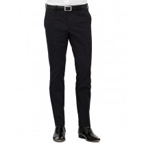 Dark Navy Blue Cotton Formal Trouser
