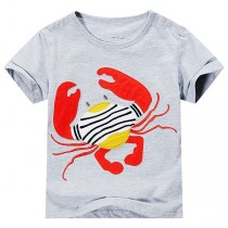 Designer O Neck Cotton Summer Boy Tshirts