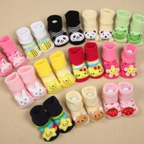 Elegant Design Baby Cotton Socks Set of 12 Pcs