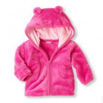 Fleece Hooded Infant Cute Jackets