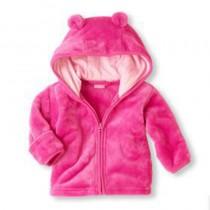 Fleece Hooded Infant Cute Jackets