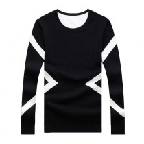 Geometric Design Mens Fashion Sweaters