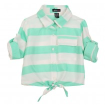 Girls New Fashion Chiffon Casual Shirts