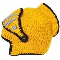 Helmet Style Handmade Knit Caps