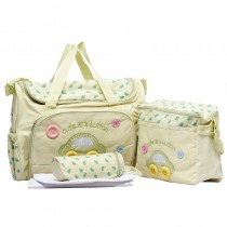 High Capacity Printed Infant Baby Diaper Bags