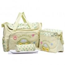 High Capacity Printed Infant Baby Diaper Bags