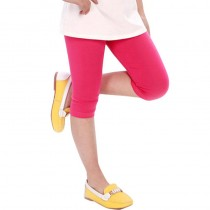 High Quality Elastic Waist Cotton Girls Leggings