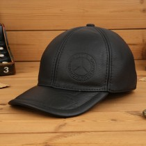 High Quality Leather Mens Sport Caps