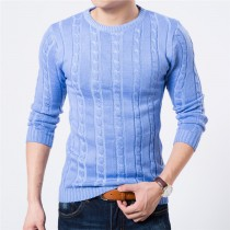 High Quality Slim Fit Mens Casual Pullovers