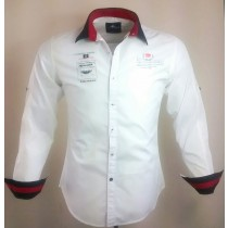Casual Cotton White Shirt