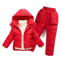 Infant Boy And Girl Winter Snowsuit Jackets Sets