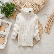 Infant Kids Turtleneck Winter Sweaters