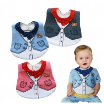 Infant Waterproof Towels Baby Bibs