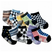 Kids Cotton Socks Set of 10 Pcs