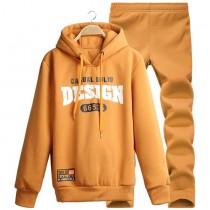 Letter Design Sweatshirt & Pant Tracksuits