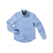 Light Blue Classic Check Pattern Shirt