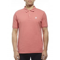 Light Pink Cotton Blend Classic Polo Tshirt