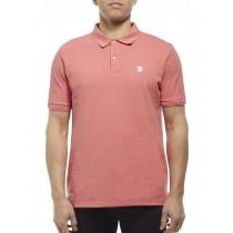 Light Pink Cotton Blend Classic Polo Tshirt