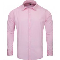 Light Pink Regular Fit Formal Cotton Shirt