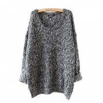 Long Loose Knitted Women Sweaters