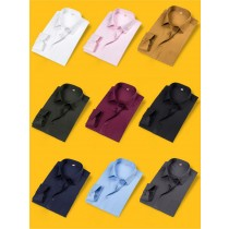 Long Sleeve Slim Fit Mens Formal Shirts