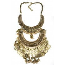Luxury Vintage Coin With Coin Tassel Necklace