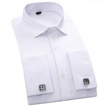 Men's Formal Shirts French Cuff Long Sleeved