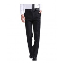 Mens Black Formal Trousers