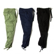 Mens Bottom Tied Cotton Cargos