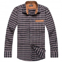 Mens Classic Plaid Casual Shirts