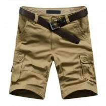 Mens Fashion Army Cargo Casual Shorts