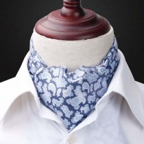 Mens Fashion Paisley Print Style Winter Scarves