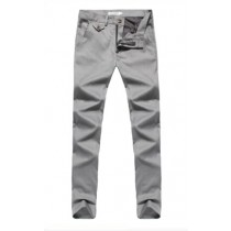 Mens Flat Front Style Polyester Formal Trousers