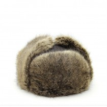 Mens Fur Leather Winter Warm Hats