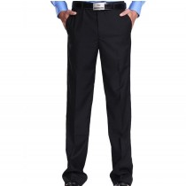 Mens High Quality Black Formal Trousers