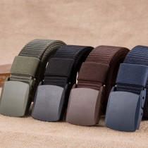 Mens High Quality Canvas Stylish Belts