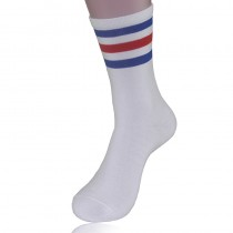 Mens New Fashion Cotton Striped Socks
