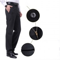 Mens New Fashion Slim Fit Formal Trousers