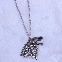 Mens New Fashion Stark Wolf Pendant Jewellery