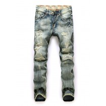Mens New Fashion Straight Jeans