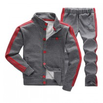 Mens Regular Sweatshirt And Pant Tracksuits