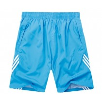 Mens Running Sports Striped Shorts
